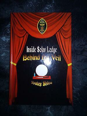 Inside Solar Lodge Behind the Veil Limited Edition Signed