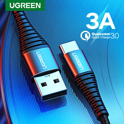 Ugreen 3A USB C Cable Fast Charging Type C Cable Date Cord for Samsung Xiaomi
