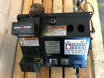 Clean Burn CB500 Series Oil Burner - Pick-up or Shipping Available