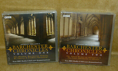 AUDIO BOOKS CD's Anthony Trollope's Barchester Chronicles Volume 1 & 2 SEALED
