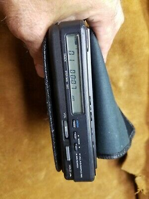 Sony Discman D-4 portable CD player vintage with  power adapter working.