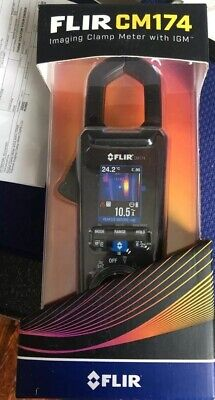 FLIR CM174 Clamp Meter with Built-In Thermal Imager  Same Day Shipping