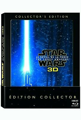 "Star Wars - Le Reveil De La Force ""Coffret Collector 3D"" - Bluray 3D+2D - Neuf"