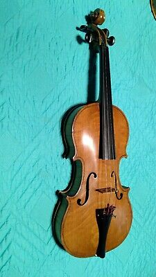 "Violin - Handwritten Inside ""Made By Scott - Aug 10, 1940"" - Nice Wood!"