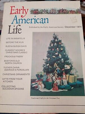 December 1974 Collecting Souvenir Spoons Kitchen   Early American Life Magazine