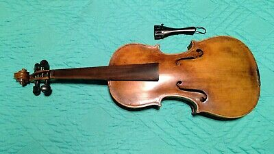 A Refinished Violin - Needs Bridge, Strings,  and Set Up. Presents Nice!