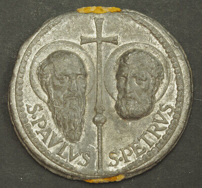 1939, Vatican, Pope Pius XII. Large Papal Lead Bulla (Official Papal Seal). XF++