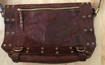 Tasche The Bridge  Leder Braun