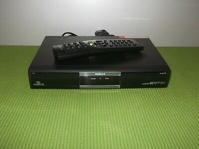 HUMAX FOXSAT-HD Freesat HD Satellite Receiver + Remote