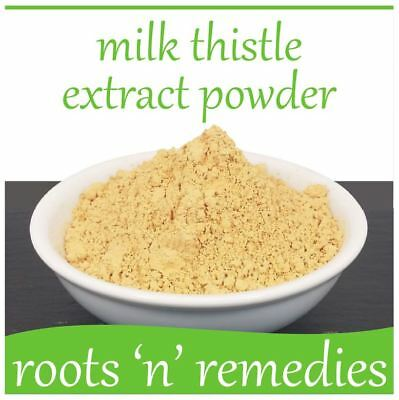 Milk Thistle Seed Extract Powder - 50g - High Strength & Pure.