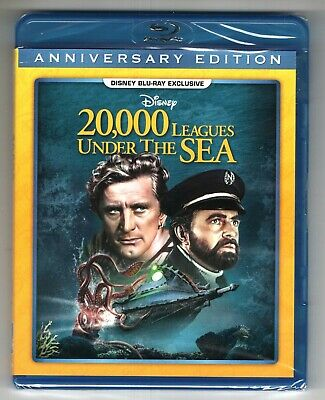 20, 000 Leagues Under The Sea   New Factory Sealed Disney Movie Club Blu Ray