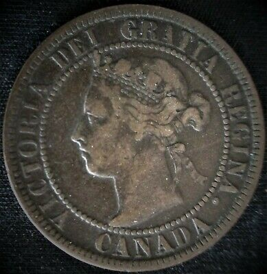 1900 Canadian large cent penny