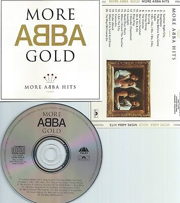 Abba-More Abba Hits-More Gold-93-Usa-Polydor/Polar Rec.d111926(314519353 2)-Cd-M