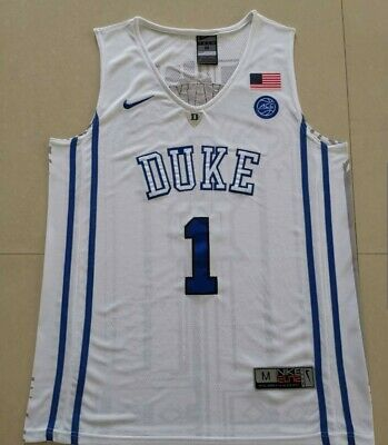 3bc8502a7490 Nwt Nike Zion Williamson #1 Duke Blue Devils Men's Basketball Jersey