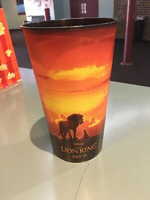 The Lion King 44oz Plastic Movie Theater Cup Brand New!