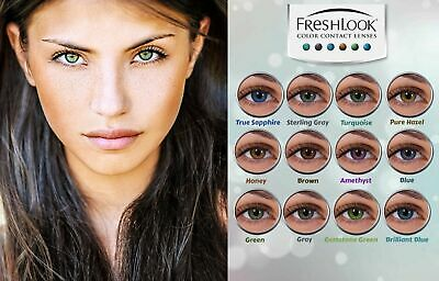 Soft Vibrant Color Contacts Eye Lenses Colorblends Makeup Lens Free Shipping NIB