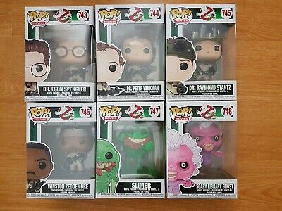 Funko Pop! Movies - Ghostbusters, Set of 6! Brand New
