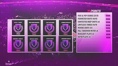 !!!!Nba 2K19 Badge Grind!!!! 2 Badges/ $15 Any Badges Of Your Choice