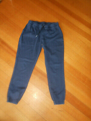 Size 14 denim colour tracksuit pants with pockets