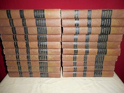 1956-57 The Universal Standard Encyclopedia Set Of 20 Hardcover Volumes!