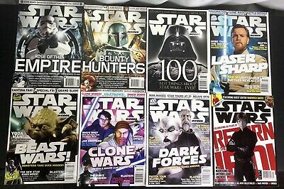 Lot of 8 Star Wars Insider Magazines Issues 96, 99, 100, 101, 102, 103, 104, 143
