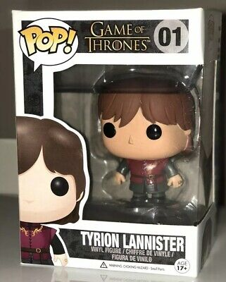 Funko POP! HBO Game of Thrones TYRION LANNISTER #01 Vinyl Figure 2013