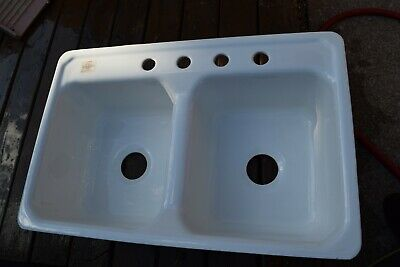 New Old Stock from 1959 vintage American Standard white kitchen Sink