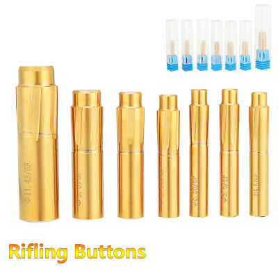 6 Grooves Push Rifling Button Double Layer Blade Tungsten Steel Chamber