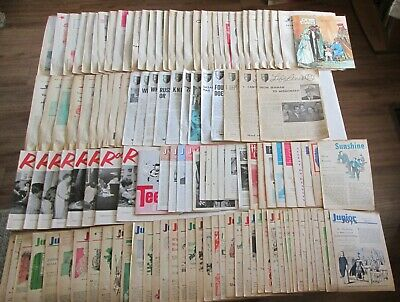 Lot of 125+ Rare Vintage 1950s 60s Christian Magazines Newsletters Youth Gospel