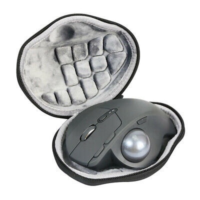 Hard Travel Case Cover Bag With Keychain for Logitech MX Ergo Wireless Mouse