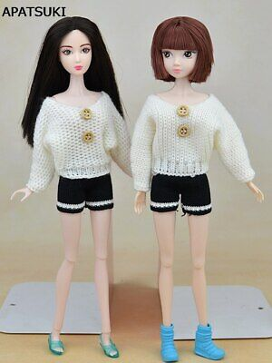 "Fashion Doll Accessories For 11.5"" Doll Knitted Sweater For 1/6 Doll Clothes Toy"