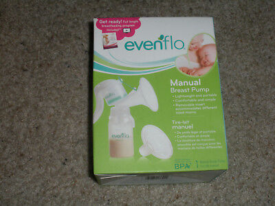 Evenflo Manual Breast Pump Lightweight And Portable-New In Box Model 2860
