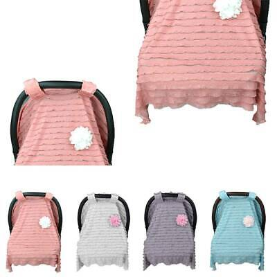 Car Seat Canopy Cover Baby Nursing Covers Scarf Breastfeeding Blanket Windproof