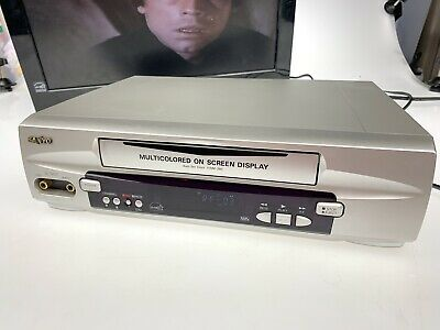 Sanyo VWM-290 VCR VHS Video Cassette Player Recorder TESTED