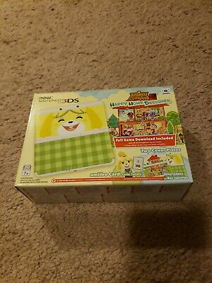 Animal crossing happy home designer 3ds System Nintendo with game downloaded