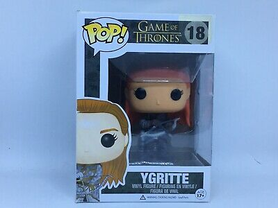 Game of Thrones Funko Pop #18 Ygritte Rare Retired Vaulted GOT HTF w/Protector