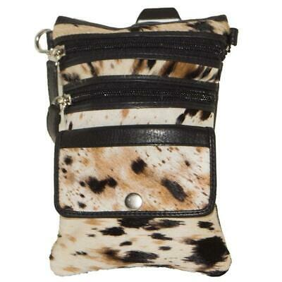 Cenzoni Ladies Small Bag MixSpot Cowhide Leather,