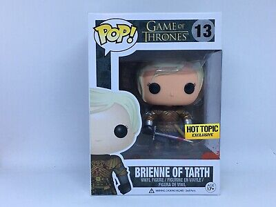 Funko POP Game of Thrones Brienne of Tarth BLOODY Hot Topic Exclusive w/Protect