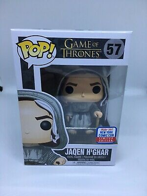 Funko Pop GOT Jaqen H'ghar NYCC 2017 Limited Edition Sticker Game of Thrones LE