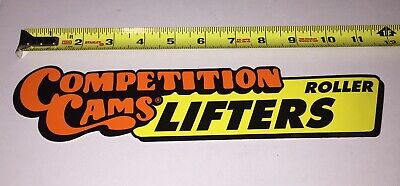 Vintage Competition Cams Roller Lifters Decal Sticker NHRA Hot Rod Drag Racing