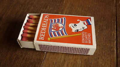 Rare Australian Arl Rugby League Club Redheads Full Matchbox, Sydney Roosters