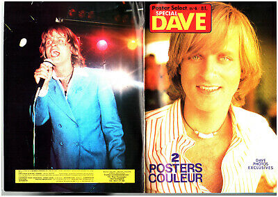 POSTER SELECT n°4 # 1978 # AVEC POSTER 16 PAGES SPECIAL DAVE