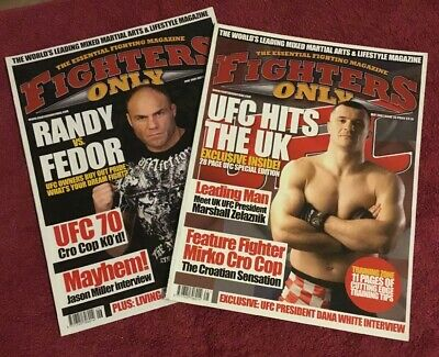 Fighters Only Magazines Issues 25 / 26 (UFC/PRIDE/MMA)