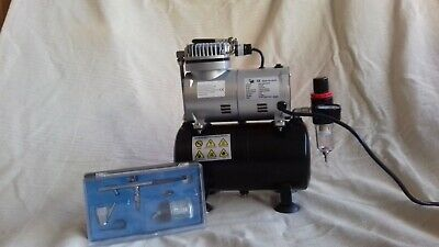 ROHS AS186 Mini Airbrush Compressor With Tank