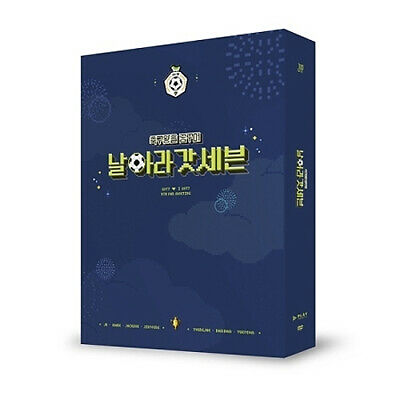 GOT7 5TH FAN MEETING [날아라 갓세븐] DVD 2DISC+Photo Book+Fold Poster+Card+GIFT SEALED