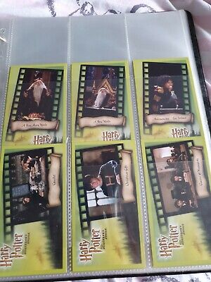 Harry Potter and the Sorcerers Stone Trading cards - Full Set