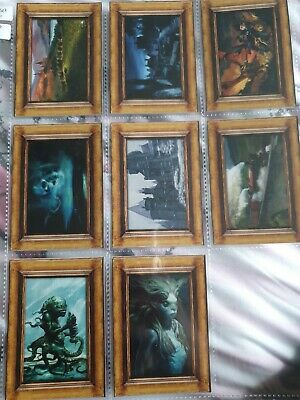 Harry potter and the goblet of fire Movie Art Cards Set Of 8