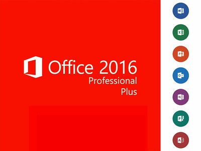 Office 2016 Professional Plus - licence key international shipment by Email