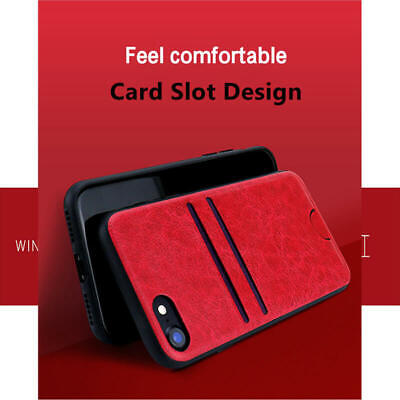 Luxury Leather Card Holder Wallet Phone Case Cover For i Phone XS MAX 8 Plus 7 6