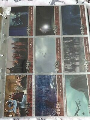 Harry potter and the goblet of fire Trading cards 91-180 full set artbox